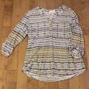 Ladies large cotton/poly shirt